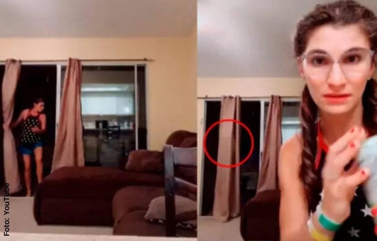 Aparece supuesto fantasma en video de Tik Tok