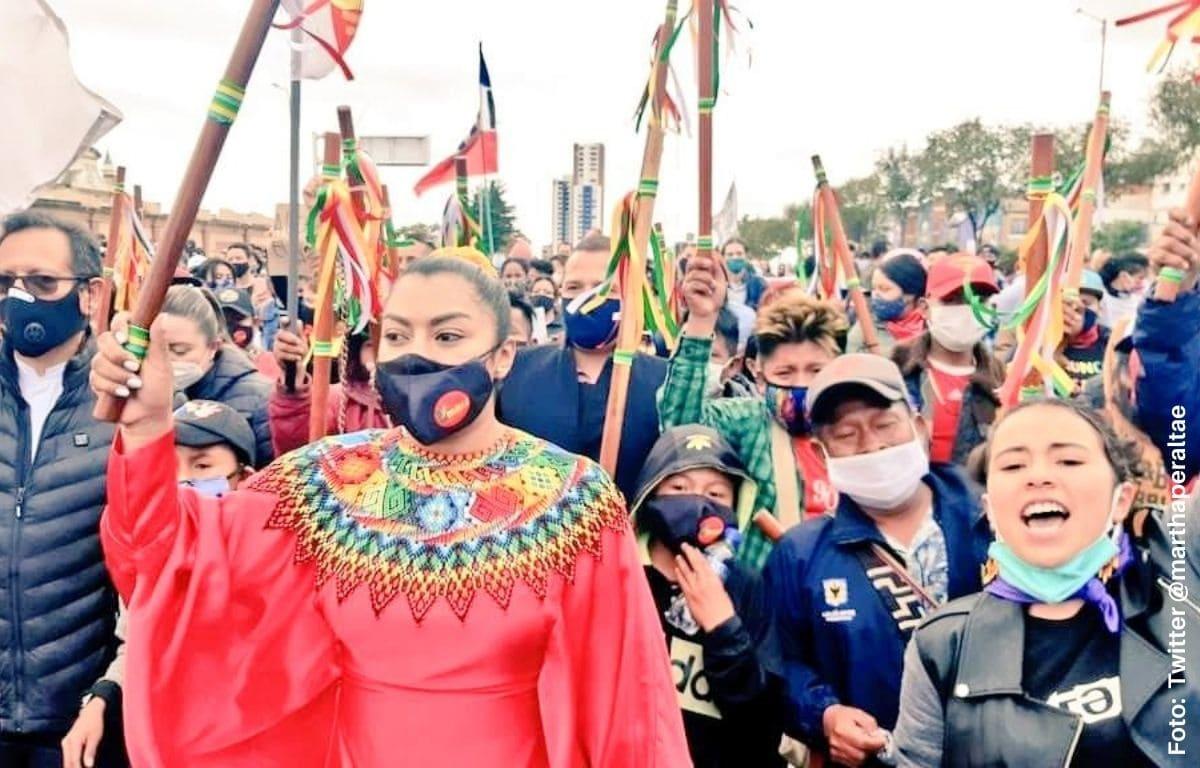Estas son las rutas de las marchas del 21 de octubre en Bogotá