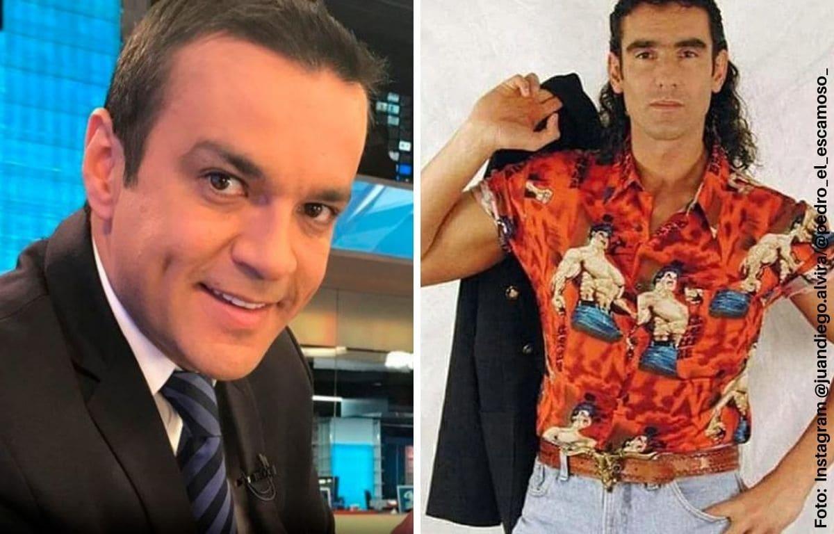 Juan Diego Alvira se puso pinta de 'Pedro, el escamoso'