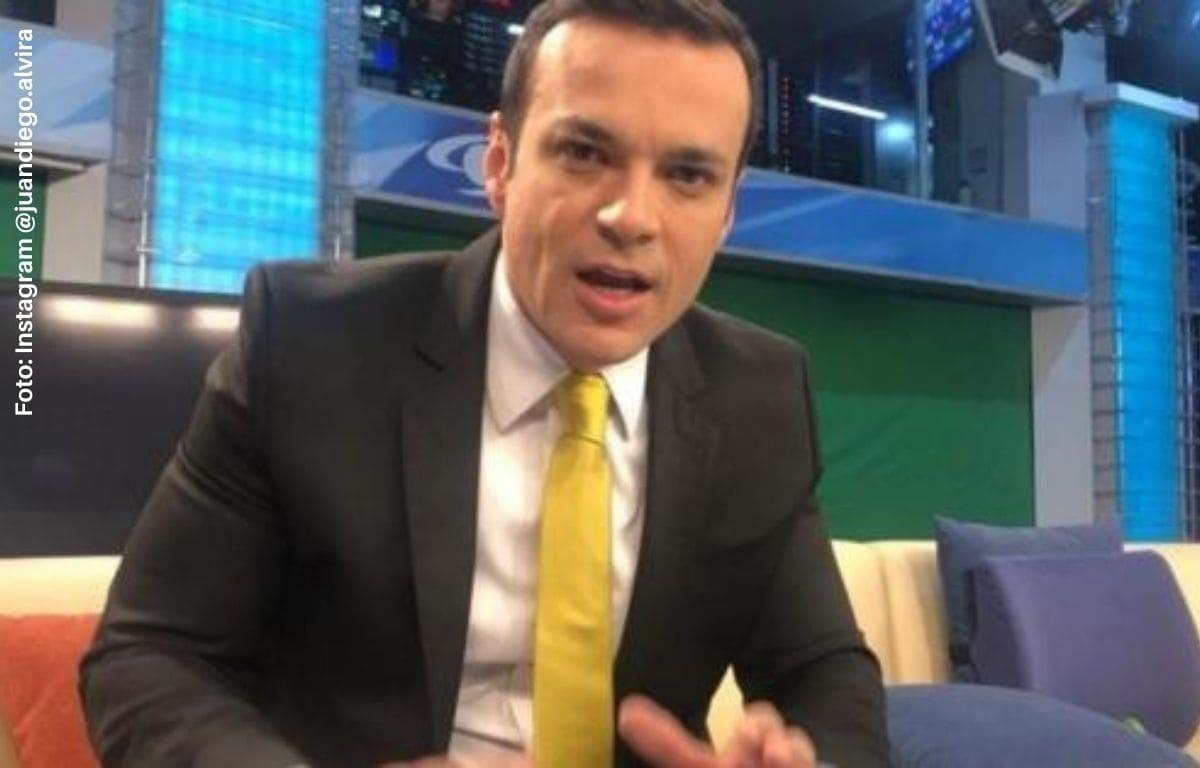 ¿Juan Diego Alvira se va de Noticias Caracol?
