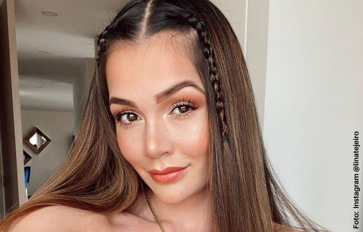 Lina Tejeiro impactó con cuerpazo en diminuto bikini