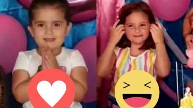 Los memes que dejó la maldadosa niña que apagó la vela de su hermana