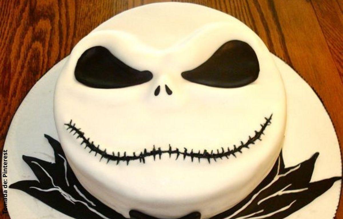torta decorada con cara de Jack
