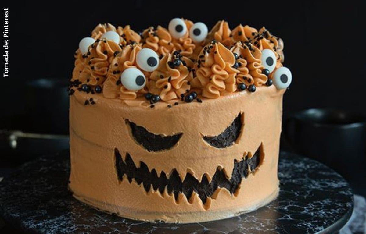 Recetas de tortas de Halloween deliciosas y fáciles