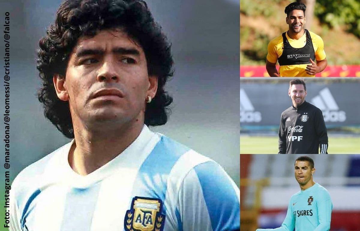 Así reaccionaron los famosos tras fallecimiento de Maradona