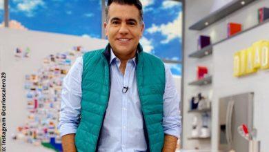 Carlos Calero luce casi irreconocible al bajar drásticamente de peso