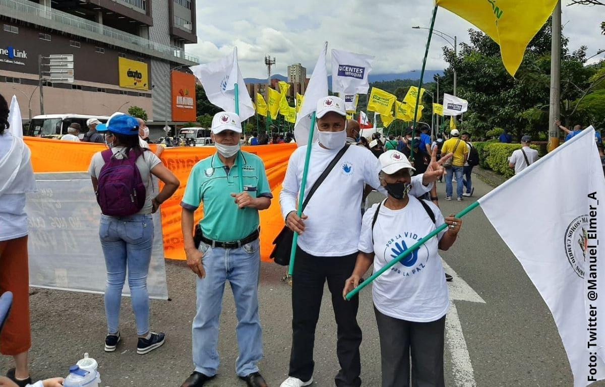 Cronograma de manifestaciones en Bogotá