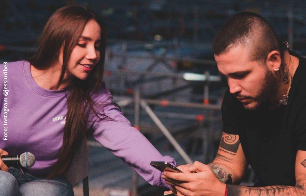 Jessi Uribe habla tras rumores de infidelidad a Paola Jara