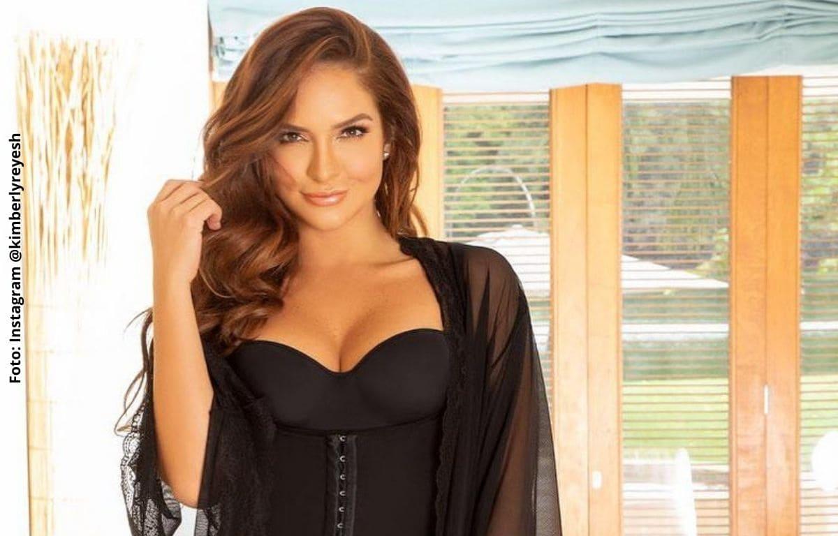 Kimberly Reyes sedujo a sus fans mostrando sus glúteos en bikini
