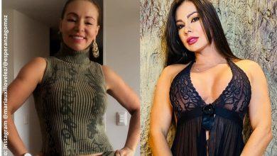 María Auxilio hizo sugestiva imitación de Esperanza Gómez