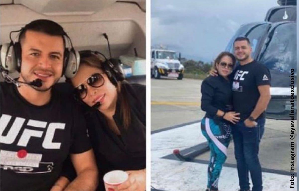 Novio de Sandra Barrios contó cuánto llevan de relación
