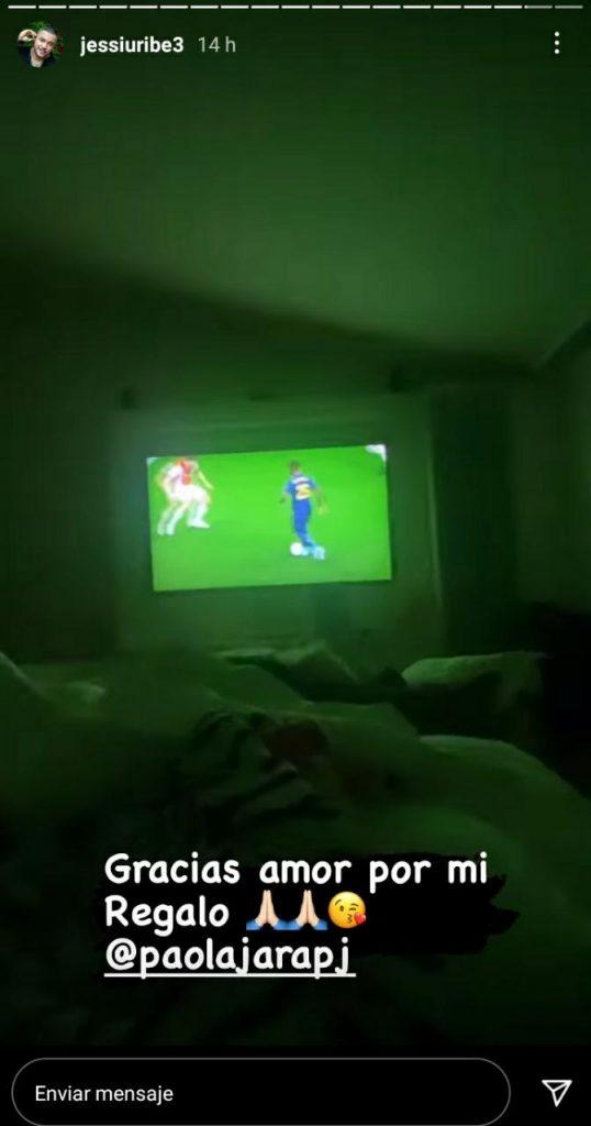 foto de una pantalla de televisión