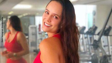 Ana Lucía Domínguez calentó las redes al soltarse el bikini