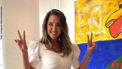 Daniella Álvarez muestra su progreso bailando bachata