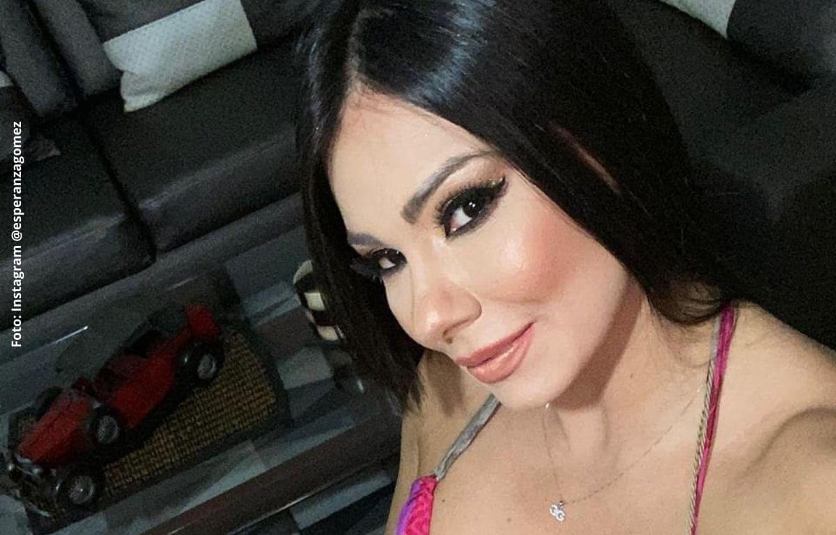 Esperanza Gómez no puede grabar ciertas escenas por su esposo