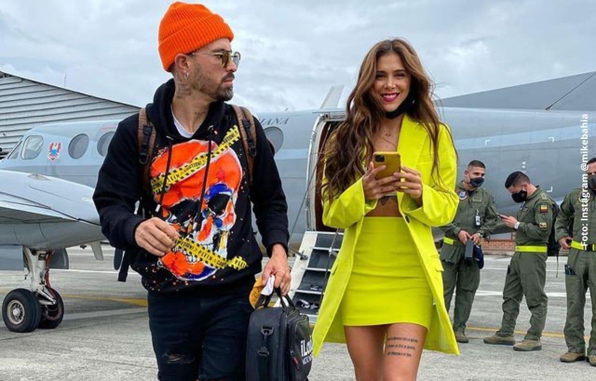Greeicy enfrenta a Mike Bahía tras rumores de infidelidad