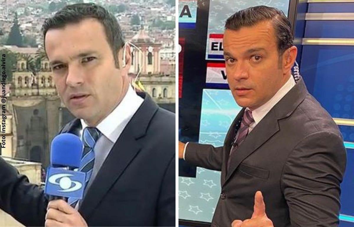 Juan Diego Alvira presumió su cuerpo musculoso mientras hacía ejercicio