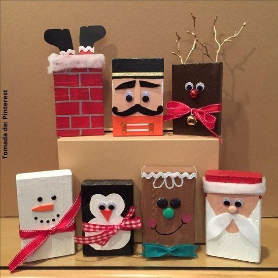 foto de adornos navideños