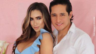 Nanis Ochoa posa por primera vez con su hija Francesca