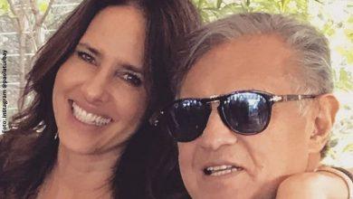 Paola Turbay se despidió de su padre con unas sentidas palabras