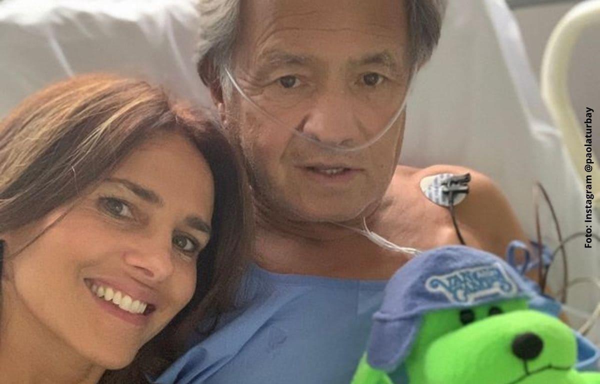 Papá de Paola Turbay falleció tras lucha contra el coronavirus