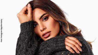 Por suéter corto, Ariadna Gutiérrez dejó ver su busto al natural
