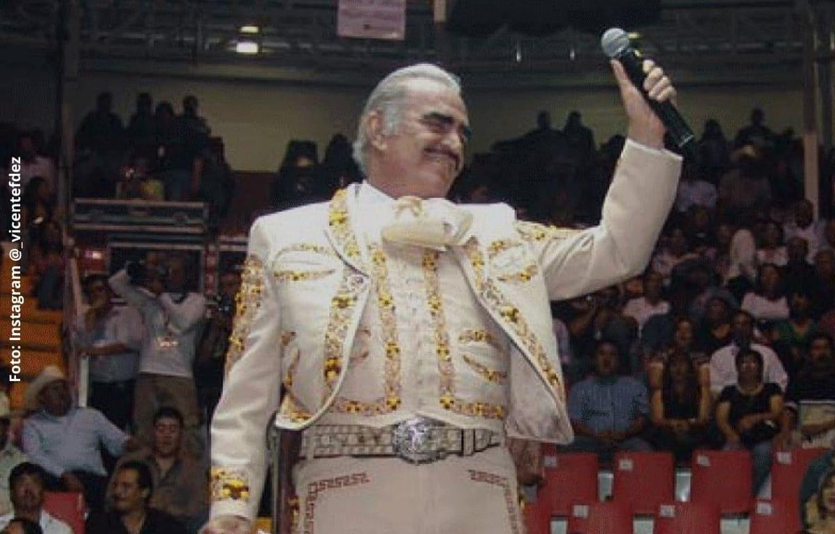 Vicente Fernández sacó del testamento a uno de sus hijos