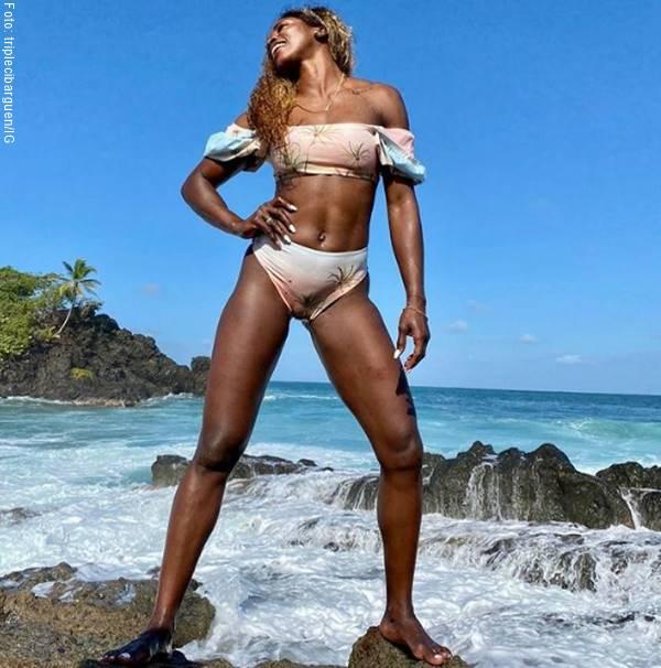 Foto de Caterine Ibargüen en bikini