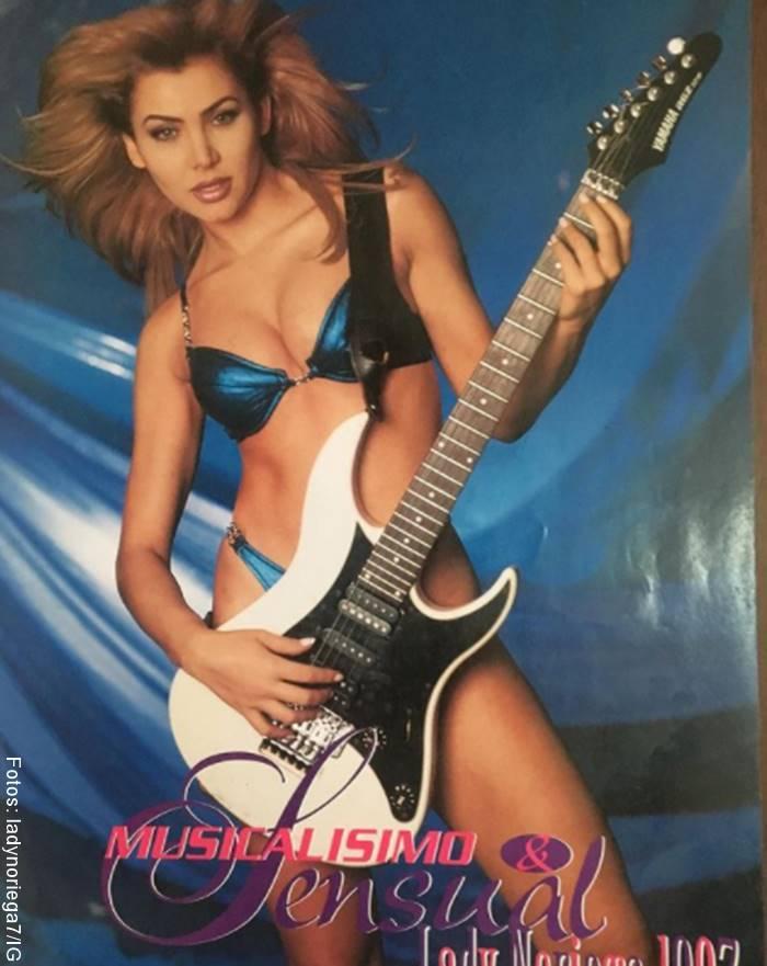 Foto de Lady Noriega joven y en bikini