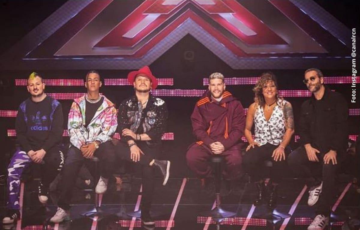 Concursante del 'Factor X' se cayó en plena presentación y sacó risas