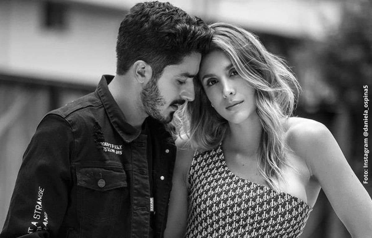 Daniela Ospina y Harold Jiménez se reencuentran en evento privado