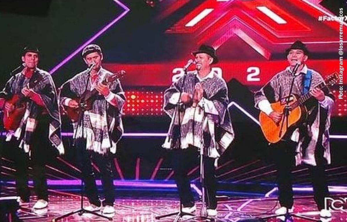 El grupo carranguero que conquistó en el 'Factor X'