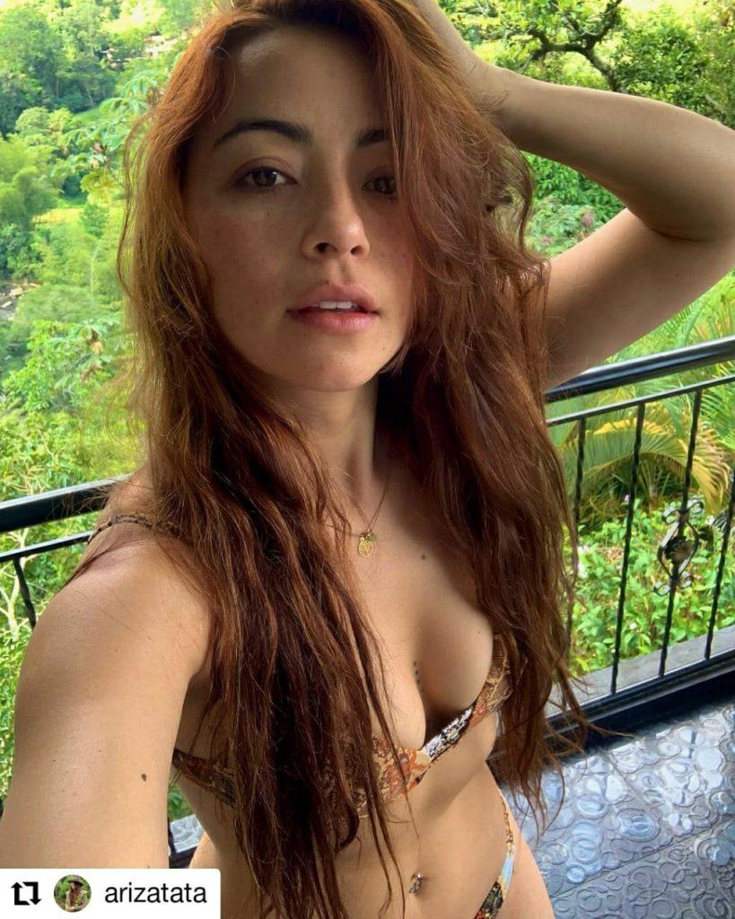 foto de mujer en traje de baño