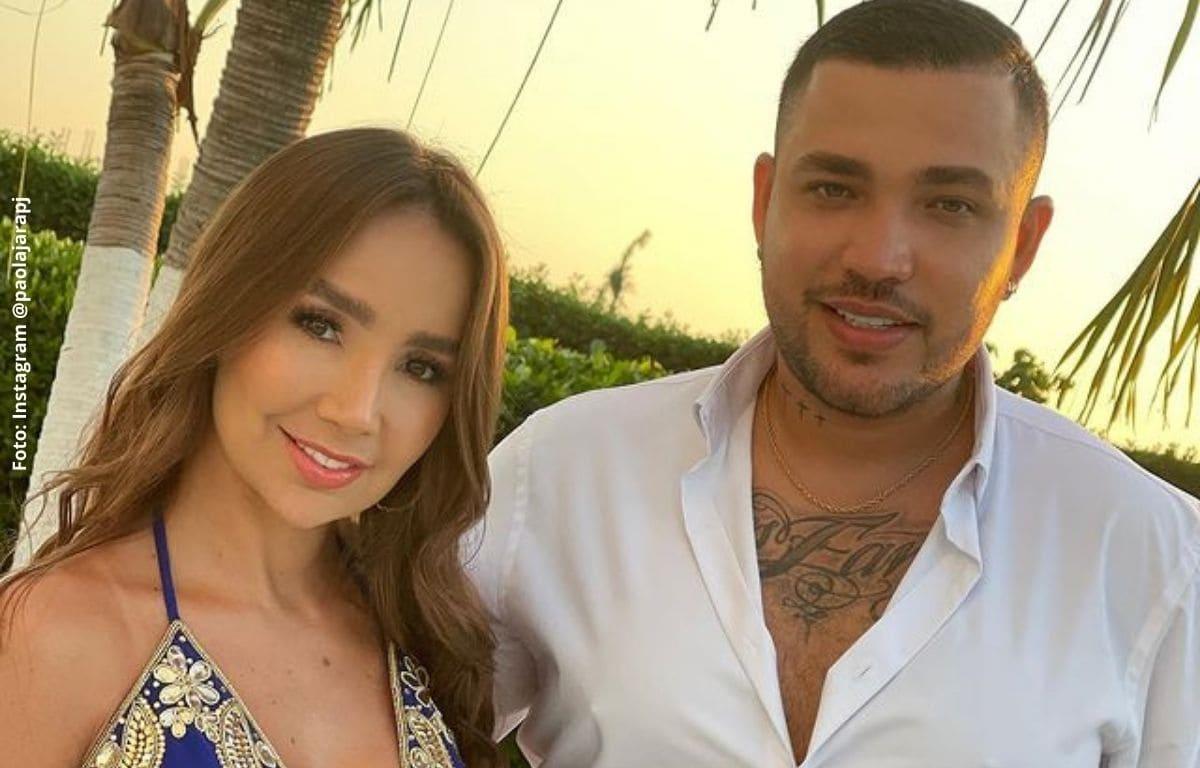 Jessi Uribe dejó ver el anillo que le dio a Paola Jara