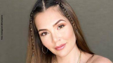 Lina Tejeiro revela si tiene una relación con famoso cantante