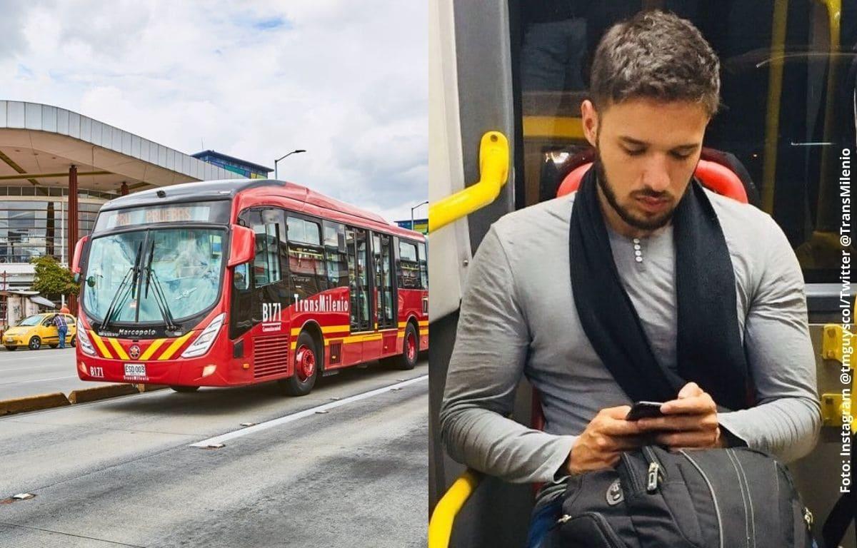 Los hombres más guapos de Transmilenio en una cuenta de Instagram