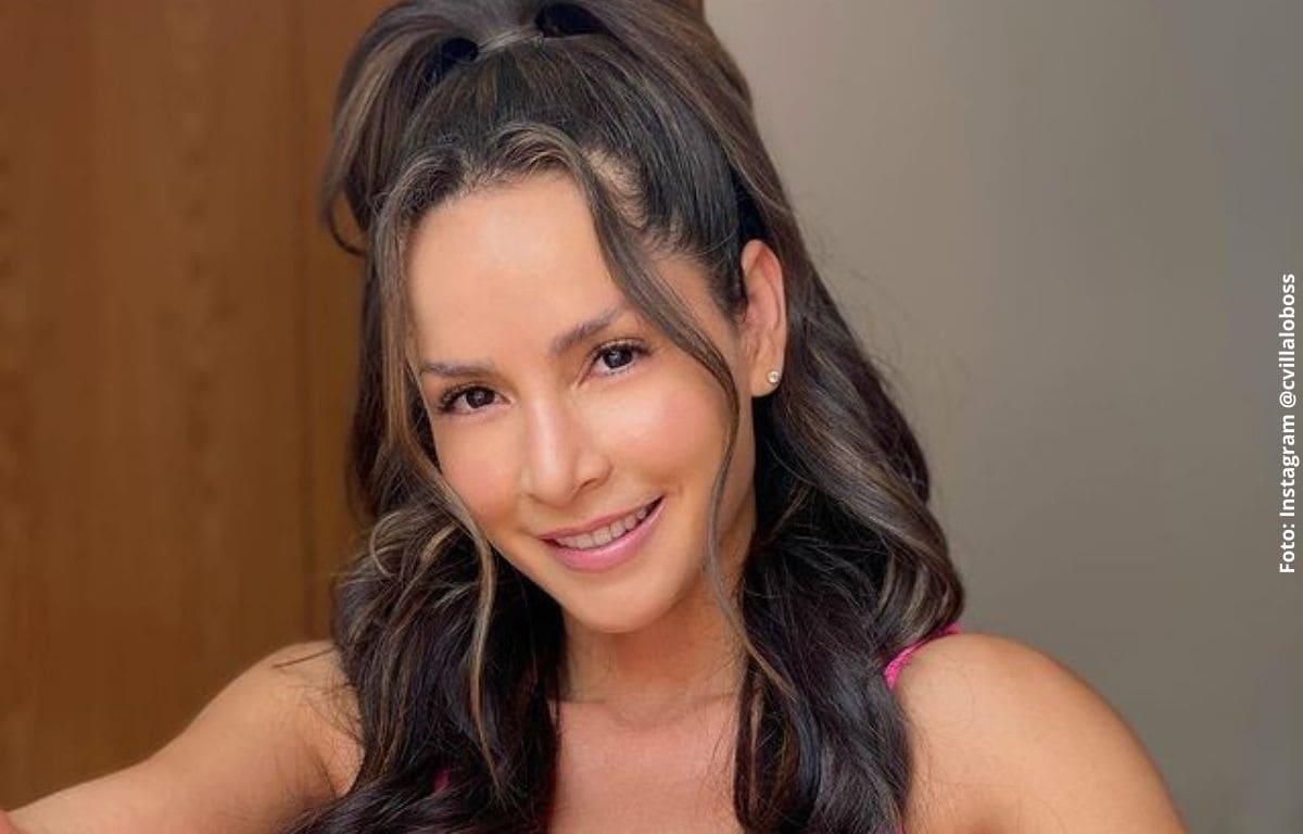 Carmen Villalobos celebró crecimiento de sus fans con ardiente foto