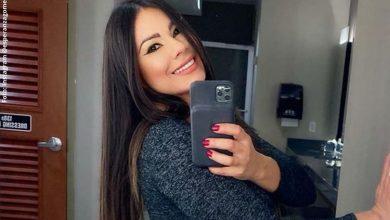 La foto de Esperanza Gómez donde se les fue la mano con el Photoshop