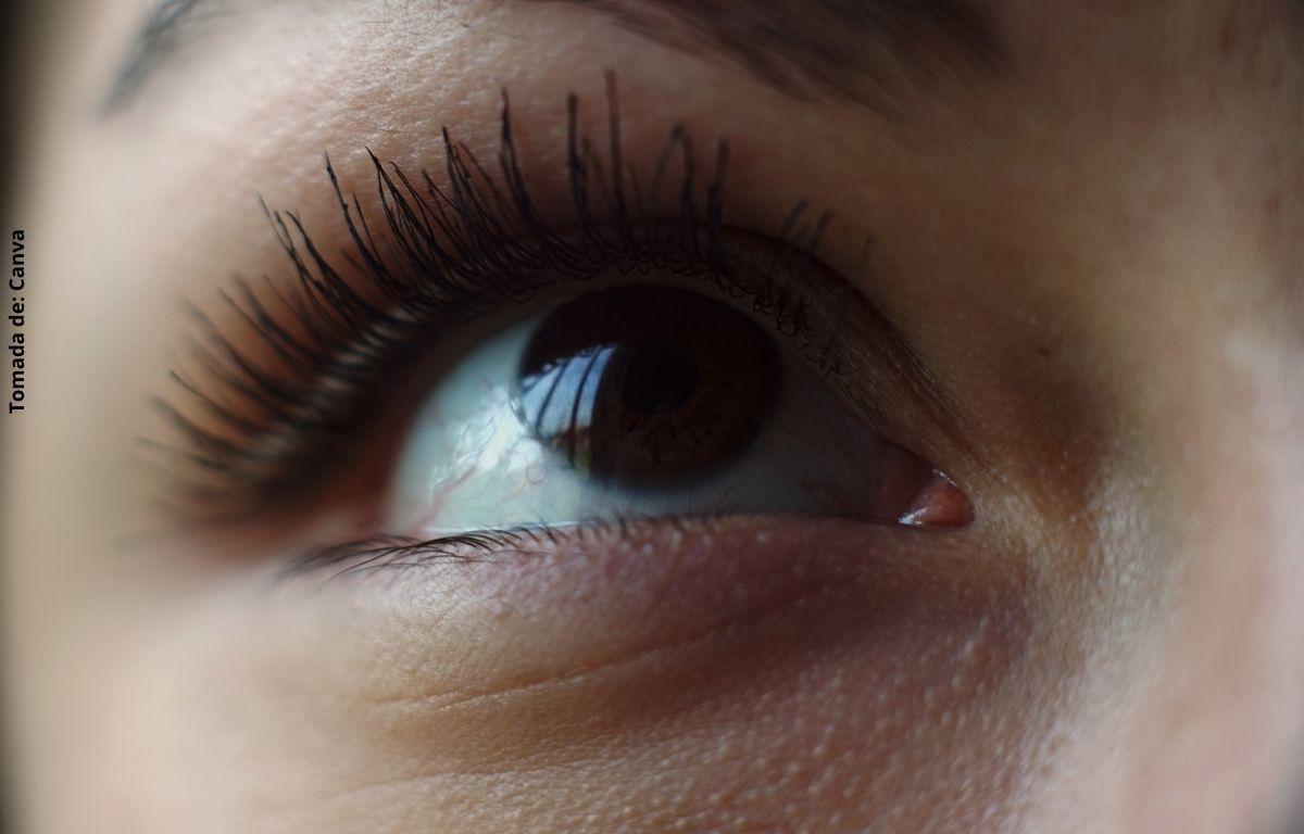 foto de un ojo
