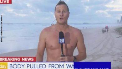 Presentador socorrió a turista en el mar creyendo que necesitaba ayuda