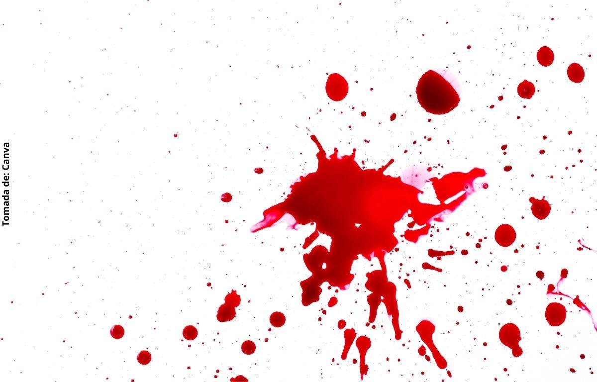 imagen de unas gotas de sangre