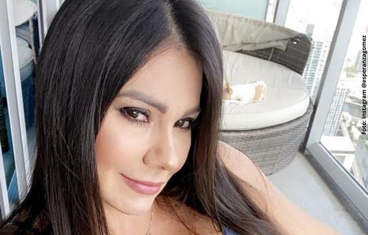 Esperanza Gómez presumió cómo lucía a sus 16 años