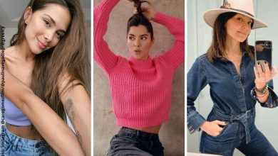Famosas colombianas que lucen hermosas sin maquillaje