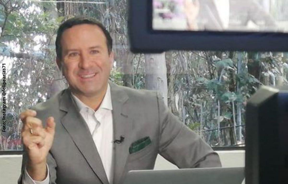 Felipe Arias vuelve a Noticias RCN tras problema cardiaco