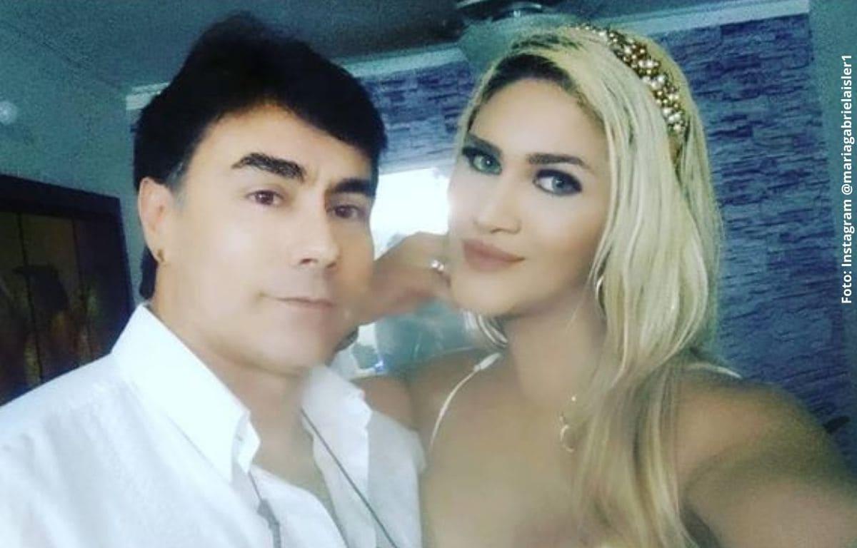 Gabriela Isler, esposa de Mauro Urquijo, se dejó ver sin sostén