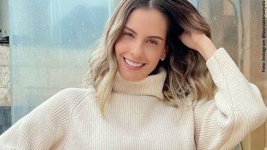 Laura Acuña publicó foto sin maquillaje y ¡qué hermosa!