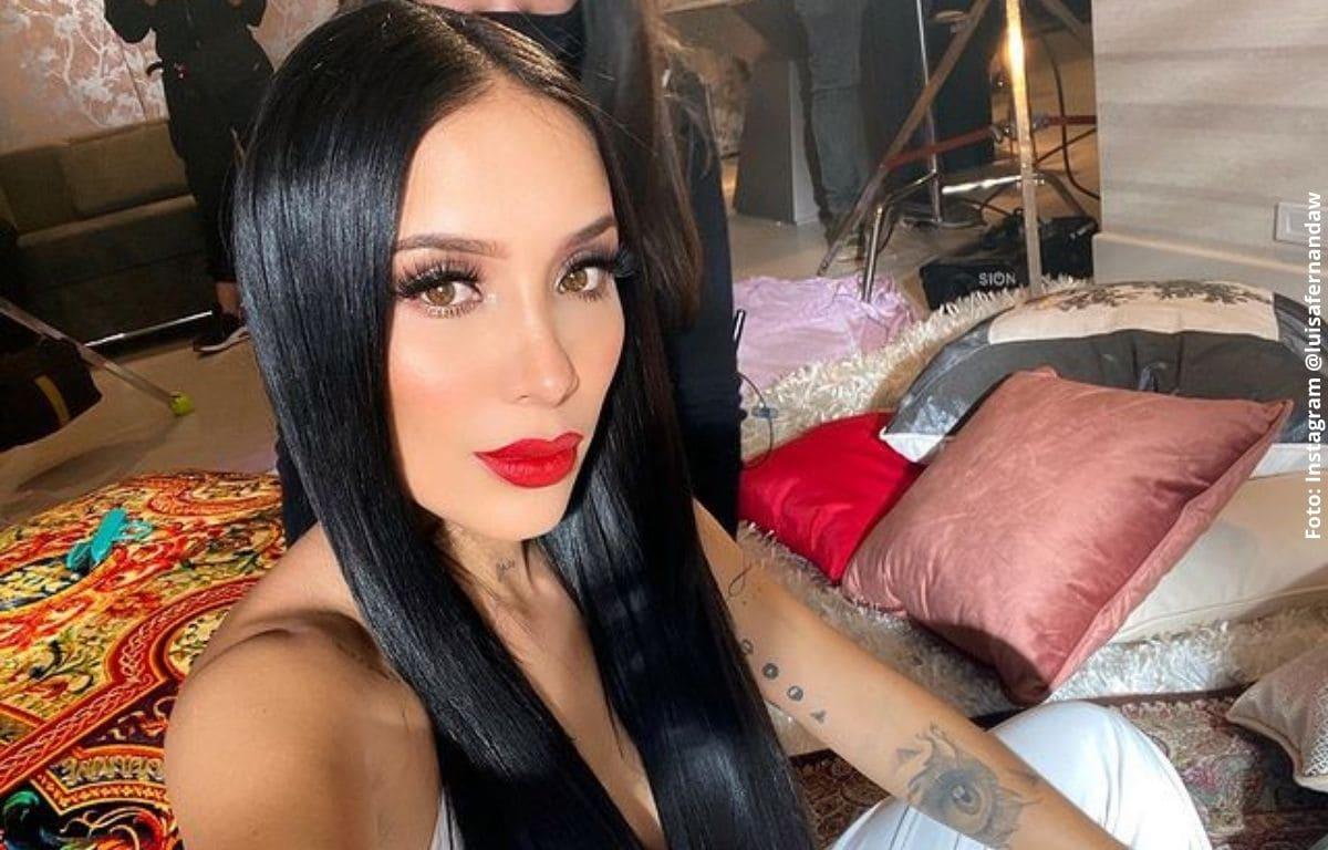 Luisa Fernanda W paralizó las redes con su cuerpazo en hilo