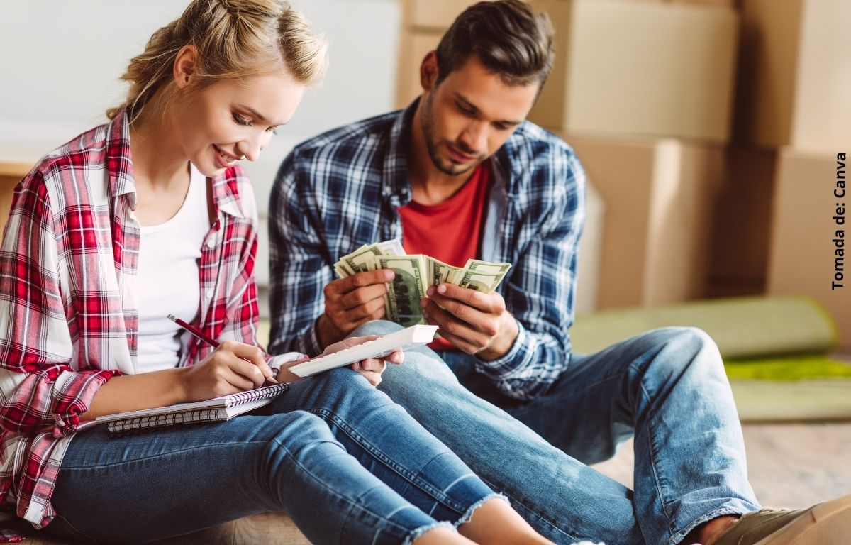 foto de personas con dinero