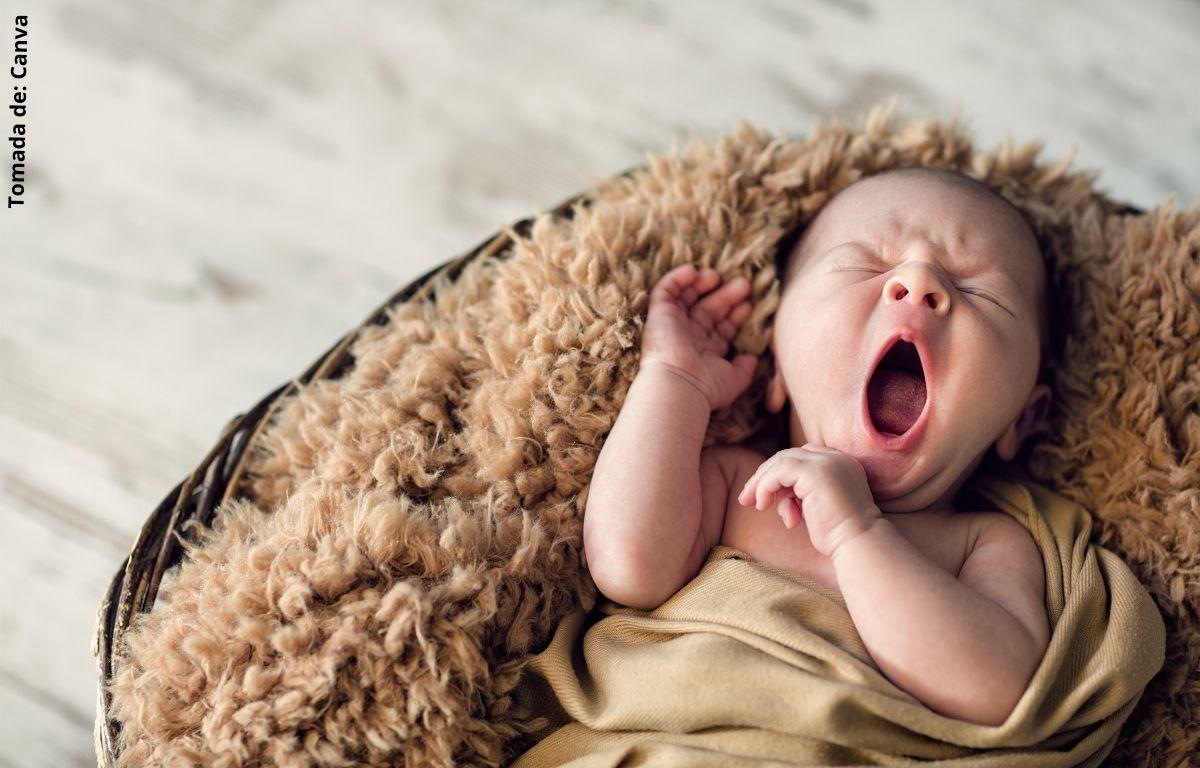 foto de un bebé recién nacido