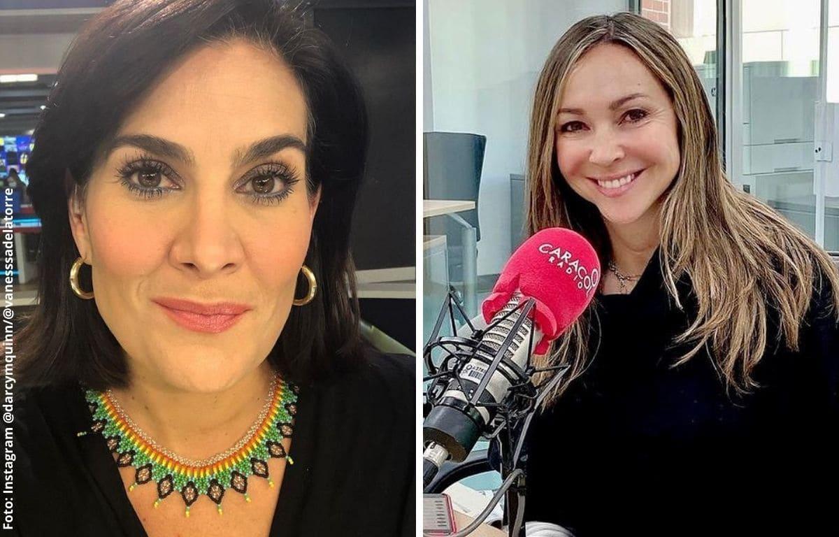 Vanessa de La Torre y Darcy Quinn tienen fuerte pelea en vivo